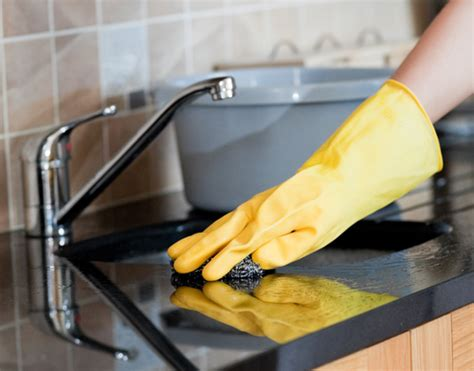 cleaning kitchen how to clean stubborn kitchen stains easily