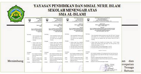 contoh surat keputusan sk kepala sekolah untuk berbagai