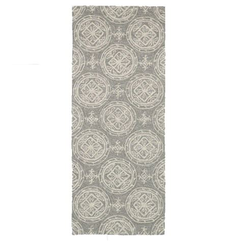 summerton collection rug loloi rugs summerton lifestyle collection grey ivory 2 ft x 5 ft rug runner 885369153983 the