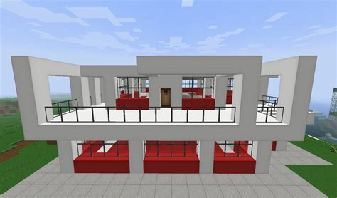ez home design inc small simple modern house minecraft project