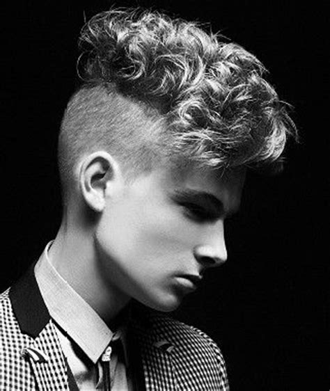 best curly hair mens style shaved sides men s haircuts medium brown and a medium on pinterest