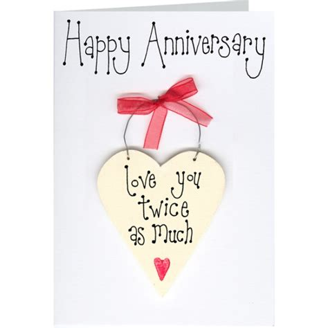 Happy 2nd Anniversary Card