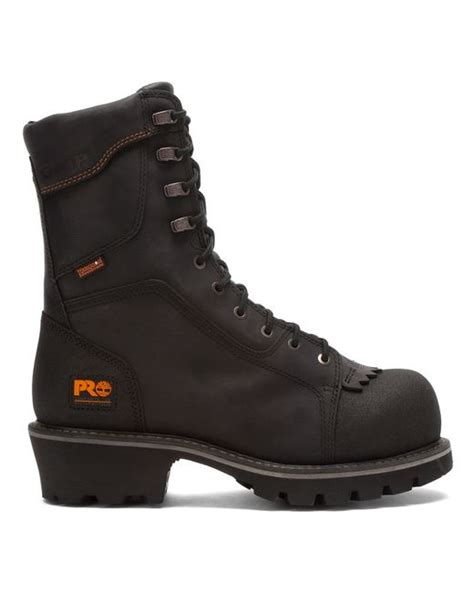 timberland logger boots timberland s pro rip saw 9 inch ct csa wp logger work