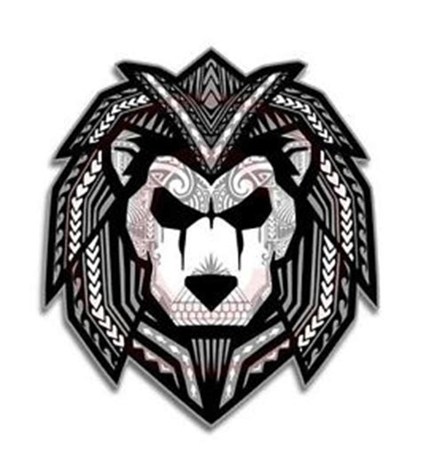 polynesian sticker lion s pride pacific islander decal