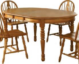glamour oval dining table