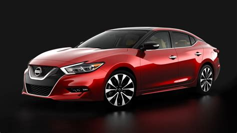 nissan car 2016 2016 nissan maxima first photos released ahead of new york