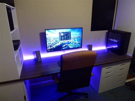 Gaming Setup Desk by New Battlestation Gaming Setup Desks And Pc Setup