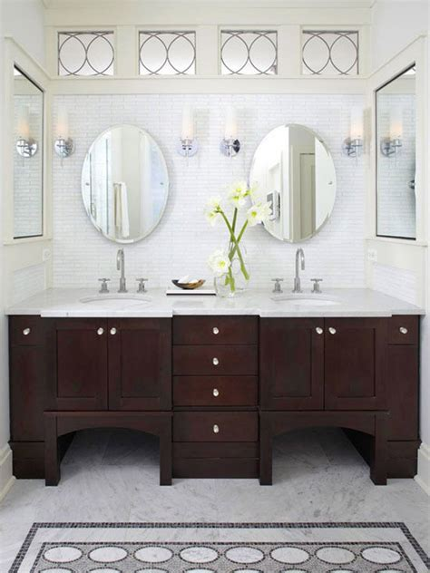 dark vanity bathroom ideas 20 classy and functional double bathroom vanities home