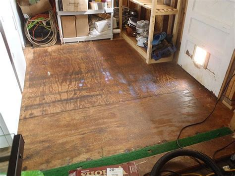 How to Lay Vinyl Tiles over Plywood   The Adventure Bite