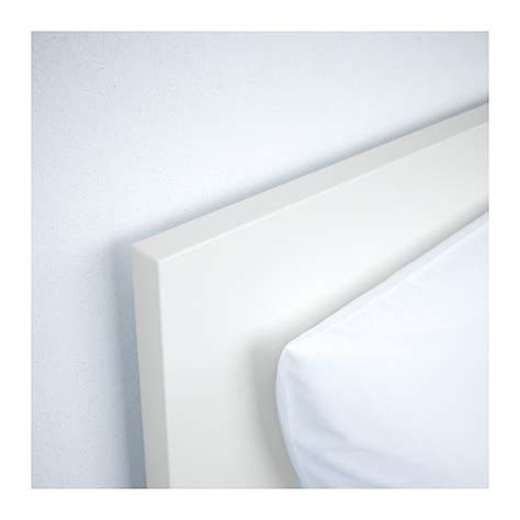 malm bed frame high white lur 246 y standard double ikea