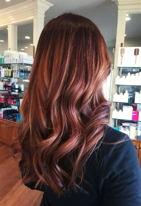 brunette rose gold hair rose gold hair brunettes beauty pinterest rose gold