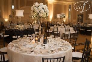 Black And White Table Setting Black And White Wedding Table Setting Las Vegas Wedding Blog