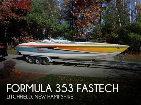 formula boats nh formula 353 fastech for sale in litchfield nh for