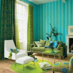 Turquoise amp green room decorating ideas