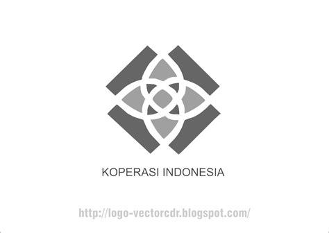 format svg adalah logo koperasi terbaru hitam putih vector format cdr free