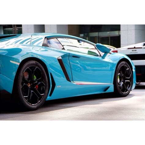 Baby Blue Lamborghini Motorvista Car Baby Blue Lamborghini Pic Pictures