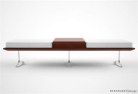 bernhardt bench bernhardt design argon bench 3d model max cgtrader com