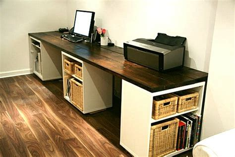 ikea arbeitsplatte arbeitszimmer computertisch selber bauen sehr gro 223 und modern im