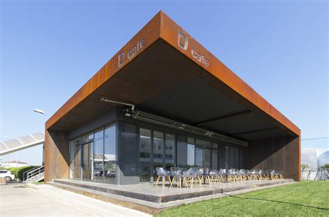 cafe design and build muum s d cafe in turkey is a flexible daylit space wrapped