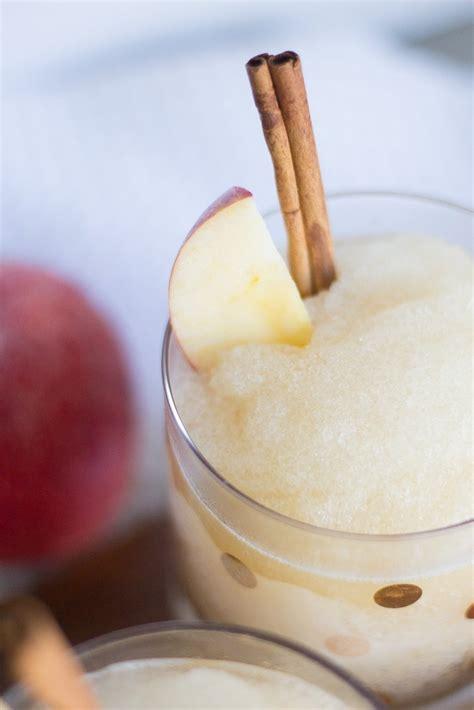 apple cider whiskey slushie simply j k