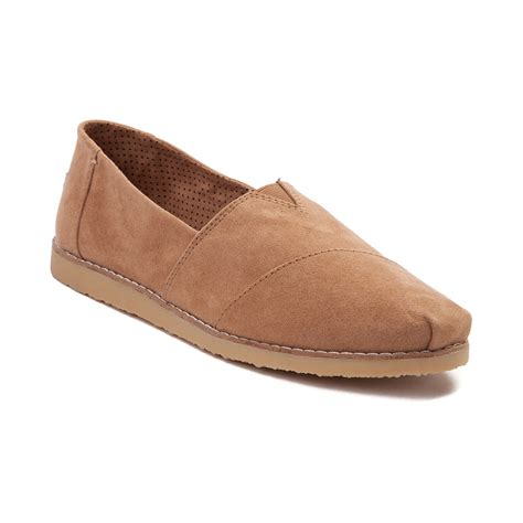 shoes for womens womens toms alpargata crepe casual shoe light brown 350254