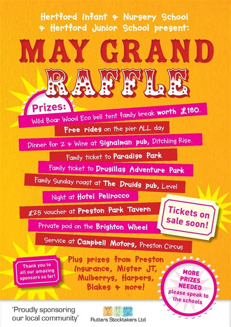 raffle poster templates hertford raffle poster 1 poster ideas by roxanne