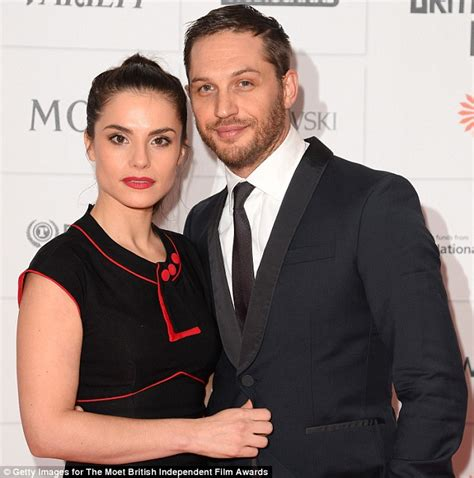 tom hughes first wife bifas tom hardy and charlotte riley steal the show at