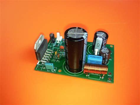 high performance 40 watt audio power amplifier w mute from