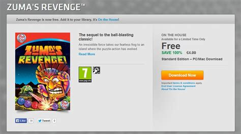 origin on the house free zuma s revenge now available on pc and mac via origin on the house