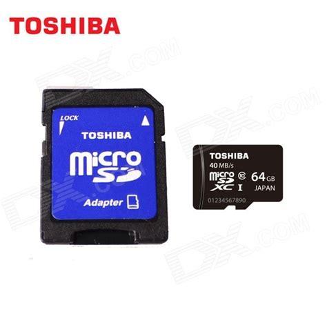 Microsd Toshiba 64gb toshiba micro sdxc tf card w sd adapter black 64gb class10 uhs i free shipping