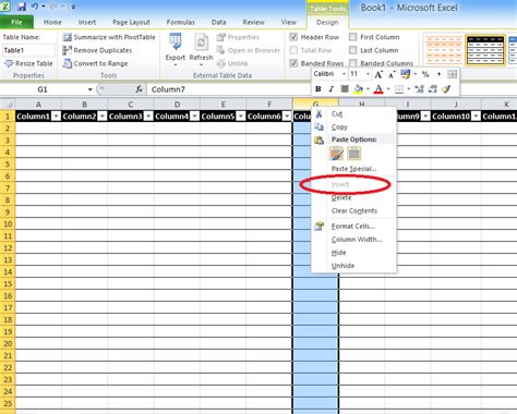 format html table for excel bryan s blah blah blahg can t add rows or columns in