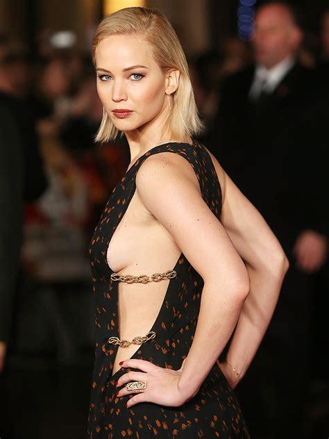 Jennifer Lawrence Shows Sideboob At Hunger Games Mockingjay Part People Com