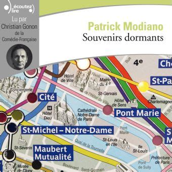 souvenirs dormants roman le r 233 seau modiano souvenirs dormants pr 233 sentation du roman de patrick modiano