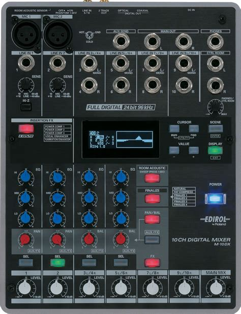 Mixer Audio 10 Channel roland m 10dx 10 channel digital mixer