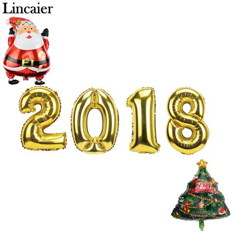 new year 2018 ornaments lincaier 16 32 inch 34 62cm 2017 2018 happy new