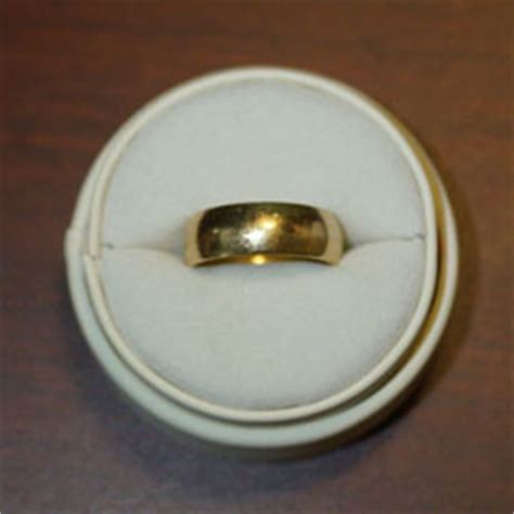 garrett at pro vdi 18k gold rings lost and found ring