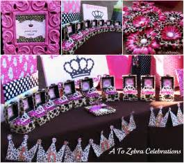 leopard princess party a to zebra celebrations