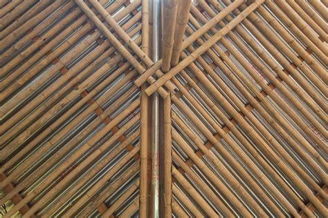 Bamboo Ceiling Design by Context Bd School Uttara Sthapotik