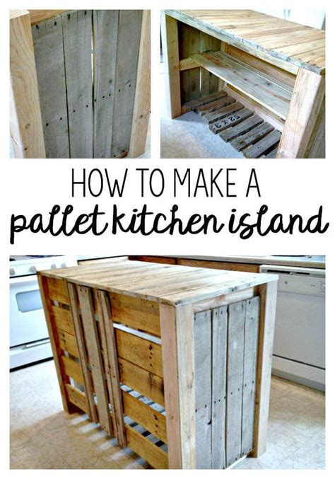 pallet kitchen island tutorial 150 best diy pallet projects and pallet furniture crafts page 32 of 75 diy crafts