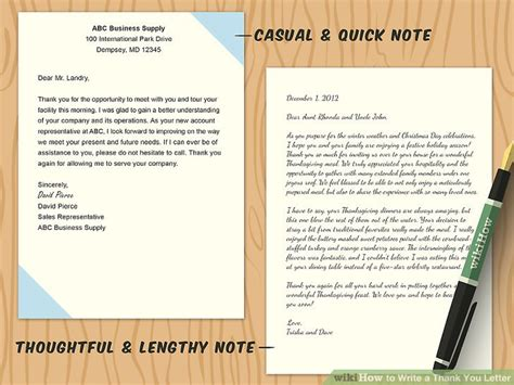 How To Write A Thank You Letter For A Gift