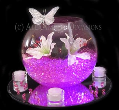 Purple Table Decorations For Weddings You Have A Choice Centerpiece Bowls For Decoration