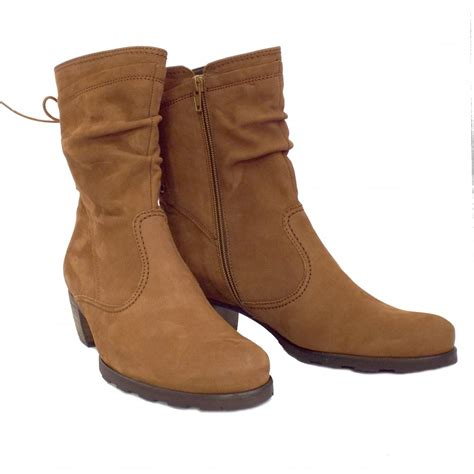 light brown ankle boots gabor boots sonic ladies comfortable boots in brown