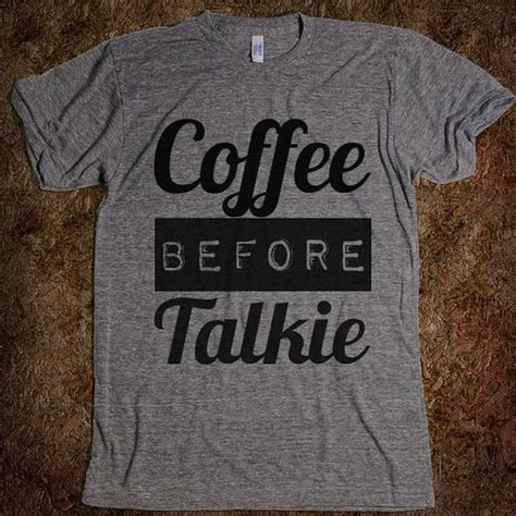 Kaos Coffee Before Talkie coffee gray and etsy on