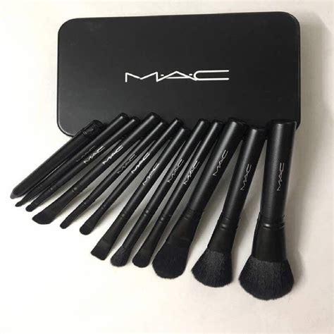 Makeup Mac Original m a c cosmetic makeup brush set with storage box price in india buy m a c cosmetic makeup