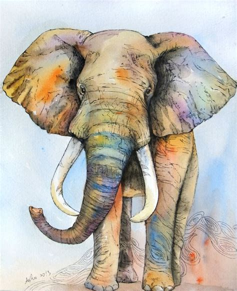 25 best ideas about elephant on elephant paintings tribal elephant and