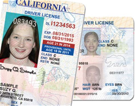 California Dmv Id Card Documents