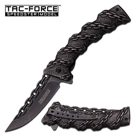 knife with chain wholesale tac chain design