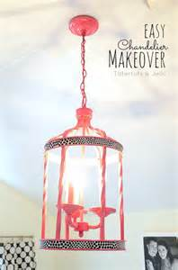 Chandelier Makeover Ideas 37 Diy Lighting Ideas For Diy Projects For