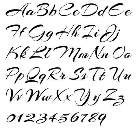 tattoo fonts letter p cursive writing alphabet arizonia alphabet exle