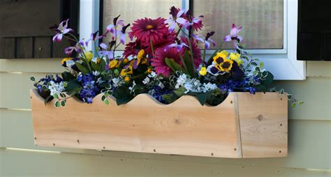 window flower box what s the best wood for window boxes